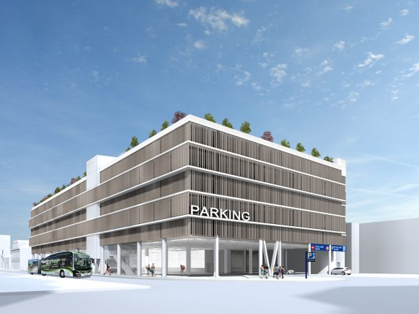 Construction du Parking Etoile Gare